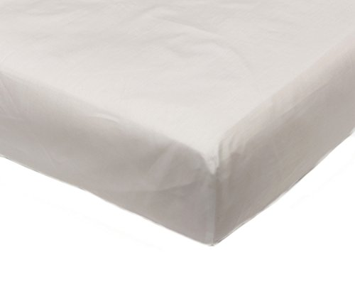 Percale 2ft 6' Fitted Bunk Bed Sheet Childrens Caravan Boat Motor Home Polycotton Bedding (White)