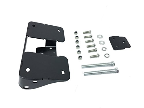 Turn Signal Relocation Kit & Lay Down License Plate Mount - Harley Davidson Dyna ('02-up)