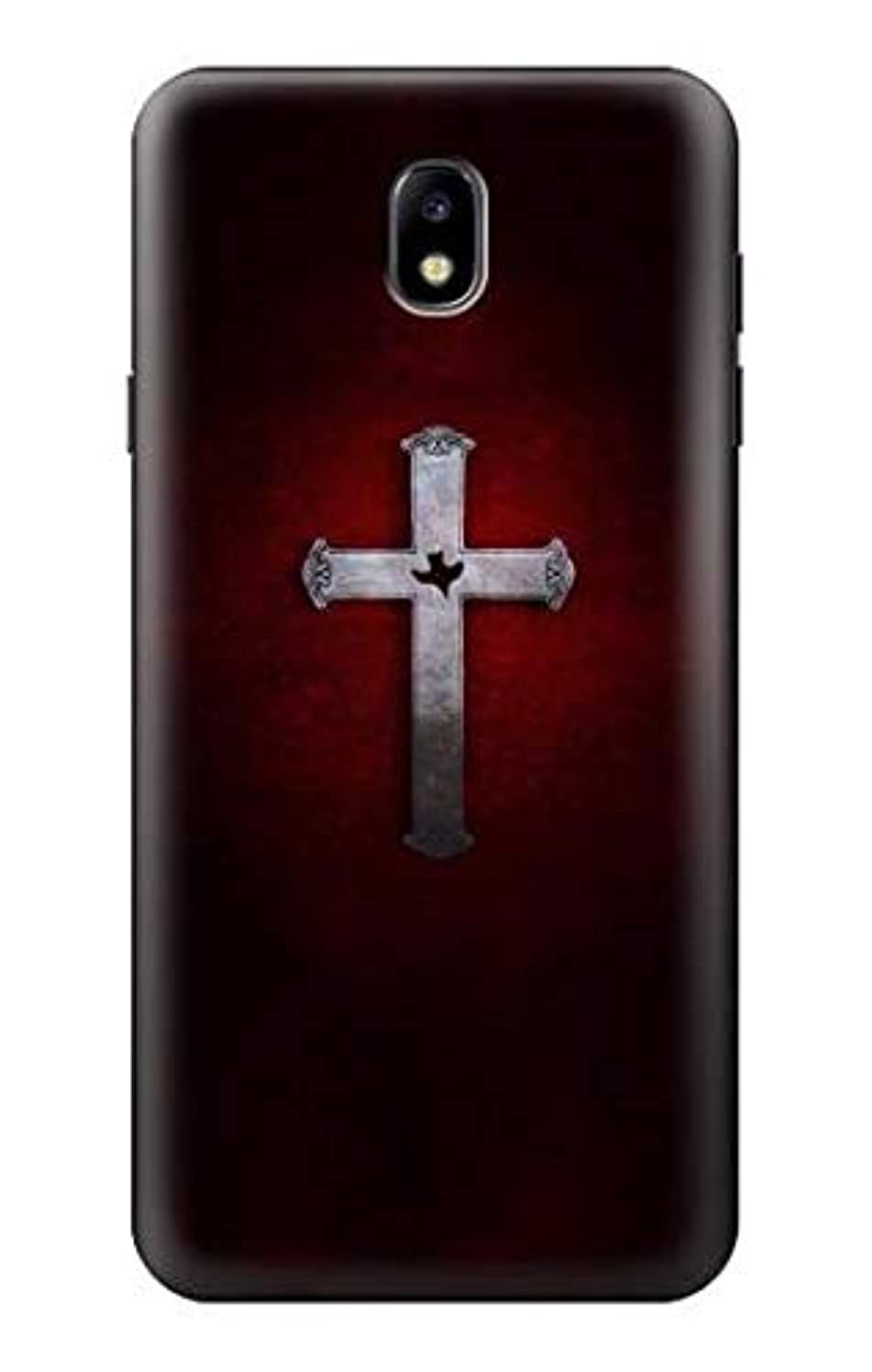 R3160 Christian Cross Case Cover for Samsung Galaxy J7 (2018), J7 Aero, J7 Top, J7 Aura, J7 Crown, J7 Refine, J7 Eon, J7 V 2nd Gen, J7 Star