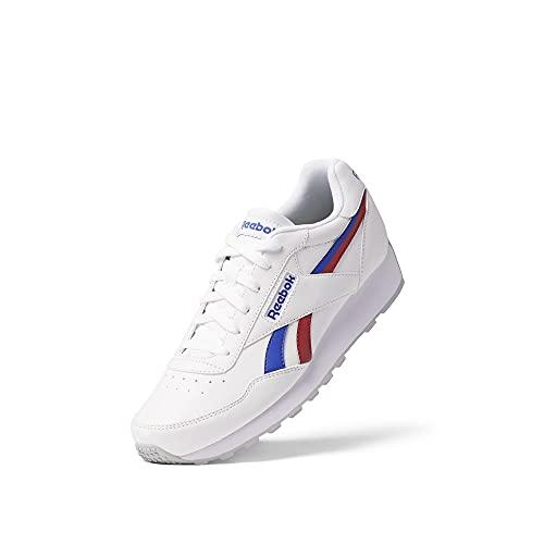 Reebok Rewind Run, Zapatillas de Running Unisex Adulto, FTWBLA/BRGCOB/VECRED, 45 EU