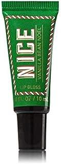 Bath & Body Works Liplicious Lip Gloss Vanilla Bean Noel 2017