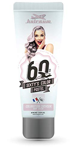 Hairgum Sixty'S Color, Milky Pink (Pastel) 60 Ml 60 ml
