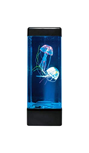 Oli & Trace Jellyfish Aquarium Mood Lamp – Runs Continuously, No Automatic Shutoff – More Fun Than Lava Lamp