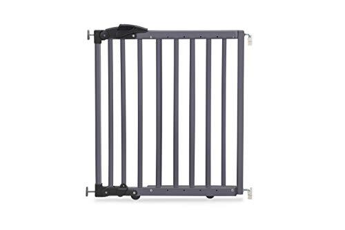 Geuther 2714 GU Grille de protection de porte à pince ou à pivot 2 en 1 2714 en 1 Gris 68-102 cm 3,9 kg