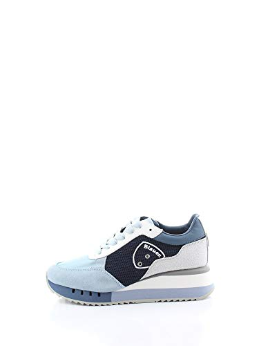 Blauer - Sneakers blu S0CHARLOTTE05/NES