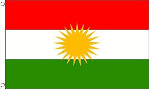 Vlag van Flagtex Koerdistan