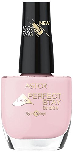 Astor Perfect Stay Gel Shine Nagellack, 005 Light Pink Manicure, langanhaltend, 1er Pack (1 x 12 ml)