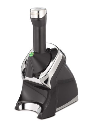 Yonanas Elite Frozen Healthy Dessert Maker - 100% Fruit Soft-Serve Maker (Black) by Yonanas