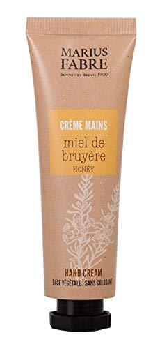 Marius Fabre Série « Herbier » – Crème pour les mains au miel (Miel de bruyère) avec beurre de karité 30 ml