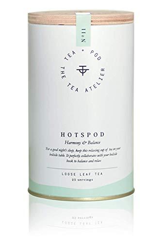 No.11 HOTSPOD - Kräutertee mit Zitronenmelisse - BIO - 50g - Harmony & Balance - Wellness-Tee - Loose Leaf - hochwertiger loser Beauty-Tee im wiederverschließbaren Aromapack| by Teapod