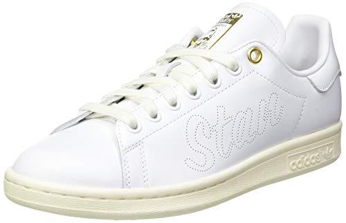 adidas Stan Smith, Sneaker Mujer, Off White/Footwear White/Gold Metallic, 40 2/3 EU