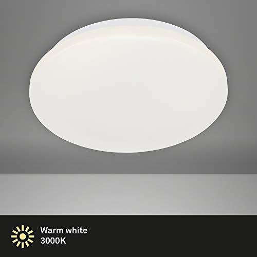 Briloner Leuchten - LED Deckenleuchte, Deckenlampe, 24 Watt, 2.200 Lumen, 3.000 Kelvin, Weiß, Ø 38cm, 3324-116