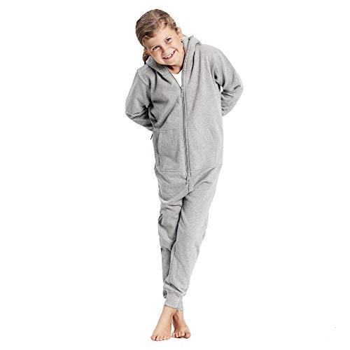 Neutral - Kinder Jumpsuit / Sports Grey, 116