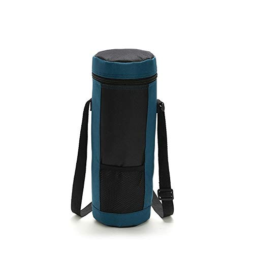 lianlian Portable Aislamiento Bolsa de Almacenamiento del Vino Bolsa portátil Cilindro de Tela Oxford Aislamiento Paquete Vino de Hielo BBAG SH0073 / 4L (Azul Marino) (Color : Navy Blue)