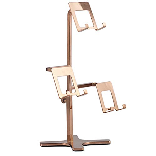 GFPR Rostfreier Stahl Display Risers, Vitrinenregal für Brieftaschen für Männer und Frauen 160 * 160 * 360mm B