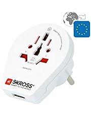 SKROSS Landstekker World to Europe USB reisadapter