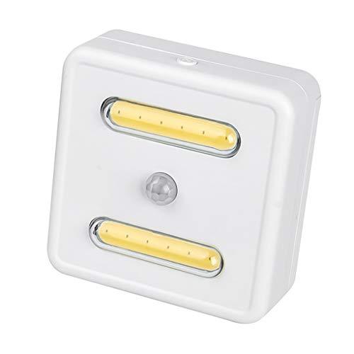 FLAMEER Movimiento de Luz LED COB con Pilas de 3 V