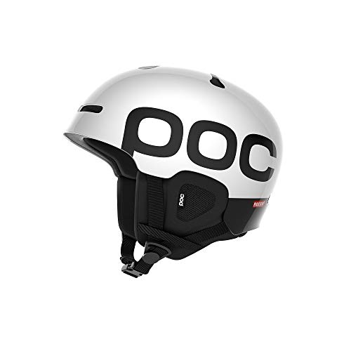 POC Auric Cut Backcountry Spin Helmet, Hydrogen White, X Small