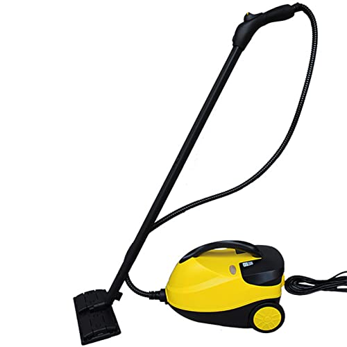 CHJ Limpiador a Vapor Multiusos 2000W, con 14 Accesorios, 220V - 230V Limpiador a Vapor de Alta presión, para Windows, Autos, Alfombra