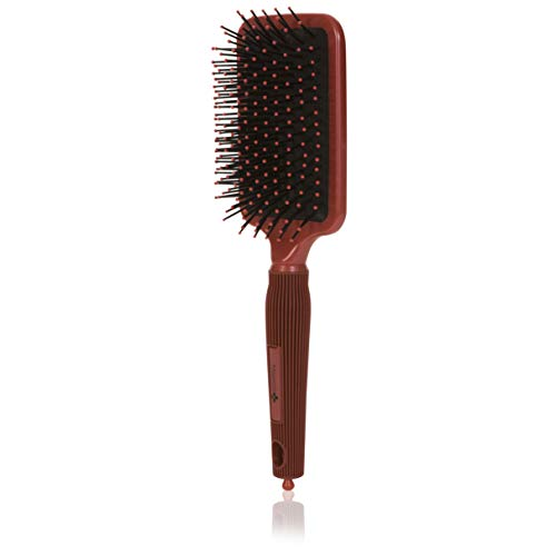 Cepillo para el cabello de paleta, desenredante iónico Cepillo grande para el cabello de paleta que elimina el frizz, alisa y aporta brillo, perfecto para desenredar, alisar y secar el cabello