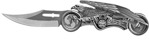Adlermotorradmesser Taschenmesser Jagdmesser Messer Klappmesser Adler Fantasy