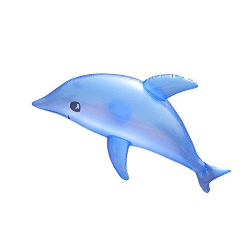 TOYMYTOY Aufblasbares Delphin Spielzeug 3pcs | Schwimmbad - Strandtier Spielzeug, Ocean Party, Geburtstag Dekoration