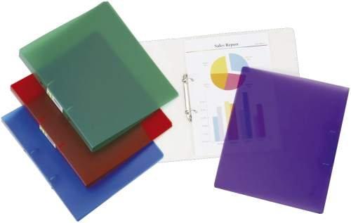 Ringmappe transluzen transpar CONNECT KF02909 A4 4 R 25 mm Material Polypropylen transluzent, farbl os milchig transparent, Ringbuch für For