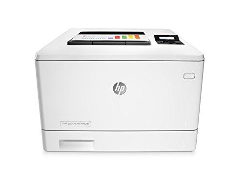 HP Color LaserJet Pro M452dn Farb-Laserdrucker (Drucker, LAN, Duplex, JetIntelligence, Airprint) weiß