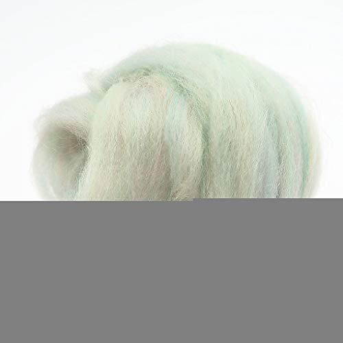 Qitao Wollfilz 86 Farben 5g / 10g / 20g / 50g / 100g Filzwolle-Filz Stoff Filz Craft Spielzeug Filzwolle Handgemachte Filzen Craft (Color : 31, Size : 20g)