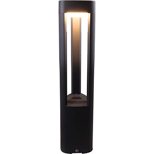 Heitronic 500047 Maryland LED-Standleuchte LED fest eingebaut 9W Anthrazit