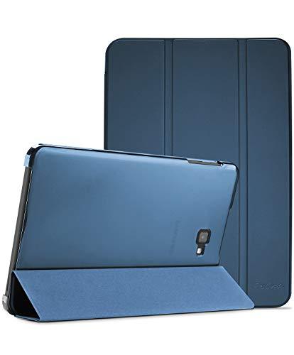 ProCase Custodia per 2016 Galaxy Tab A 10.1 (SM-T580 T585 T587)[Vecchio Modello], Smart Cover Ultra Sottile e Leggero con Auto Svegliati Sonno Funzione, Cover Traslucida Smerigliata -Blu Marino