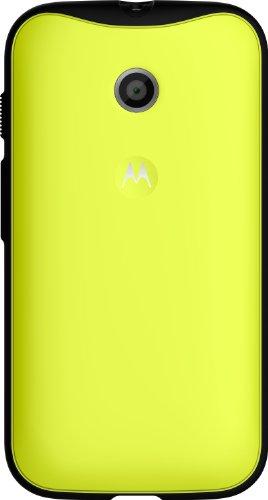 Motorola Grip Shell TPU-Cover für Moto E Smartphone gelb/schwarz