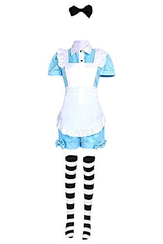 Enhopty Butler Ciel Phantomhive - Vestido para disfraz de Halloween o carnaval, para mujer, talla L