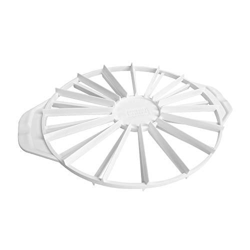 Kaiser Pâtisserie Cortador de porciones para Tarta, De plástico, Blanco