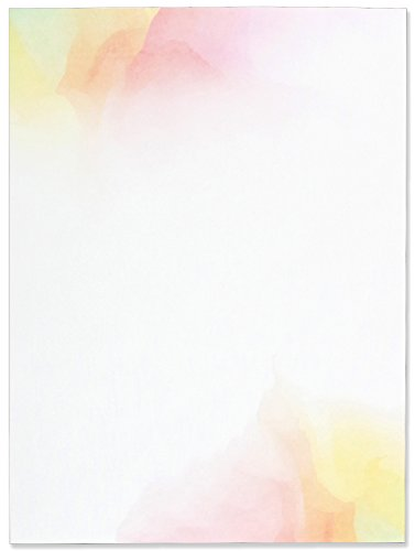 Watercolor Sunset Stationery Set (Boxed Stationery)