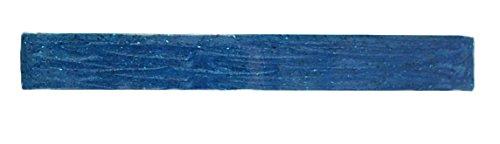 Caravane automatique femme en métal Barrette français décorée à la main, émail bleu