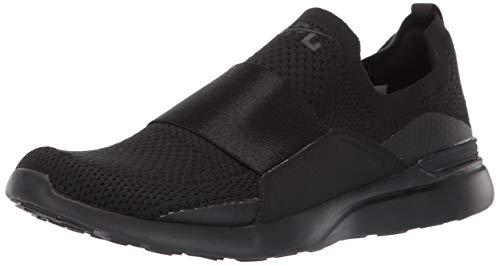 APL: Athletic Propulsion Labs Women's Techloom Bliss Sneakers, Black/Black, 5.5 Medium US