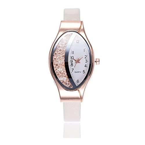 #N/D Media Luna Tipo Elíptica Quicksand Señora Reloj FWristwa