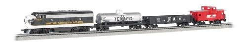 Bachmann Trains - The Stallion Ready To Run Electric Train Set - N Scale