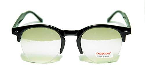FIKO Polarisierte Sonnenbrille Moscott CLUB, Johnny Depp – Fashion, Kult, Vintage, Herren, Damen, Rund, Unisex (Vista)