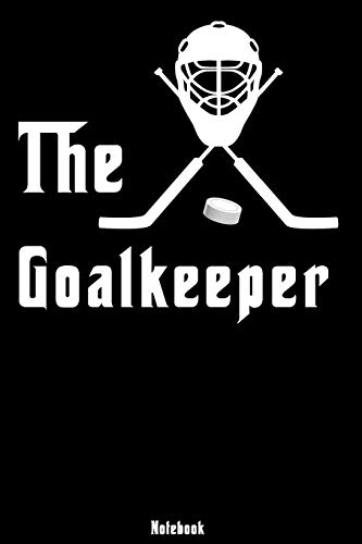 The Goalkeeper: Notebook | college book | diary | journal | booklet | memo | composition book | 110 sheets - ruled paper 6x9 inch
