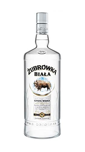 ZUBROWKA BIALA VODKA 37,5% 100 CL