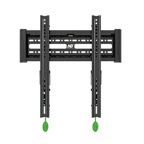 Soporte de TV universal de 40 a 60 pulgadas inclinable de montaje en pared plana LED LCD TV soporte de montaje inclinable soporte de TV carga 27,3 kg para sala de estar dormitorio