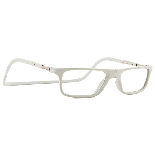 2.0 Gafas de lectura plegables,Peso ligero Con caja de vidrios Port/átil reaers Lectores de capa de cristal C/ómodo Ajuste Unisex-A