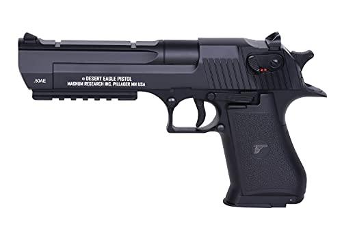 AS24 Desert Eagle AEP elektrisch <0,5 Joule LiPo Version inkl. Akku + Ladegerät Federdruck Metal Slide Airsoft Pistole…