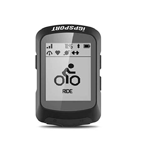 iGPSPORT Bicicleta GPS Ordenador Bicicletas iGS520, Impermeable ANT+Inalámbrico Multi-Idioma Ciclismo Ordenador Bluetooth GPS Bicicleta Ordenador con Sensores USB