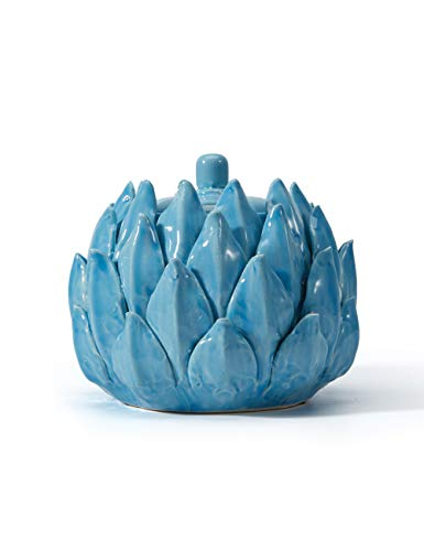 SEINHIJO Keksdose Vorratsdosen Dekor Skulptur Figur für Haus Geschenk Andenken Einfaches Waschen Keramik 12.5cmH
