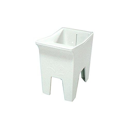 Tanque-pilón c/válvula 1 TP fibra vidrio 45 * 70 * 75