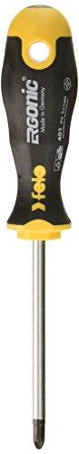 Felo 0715753685 PZ2 PoziDrive Round Ergonomic Screwdriver with Length 4'