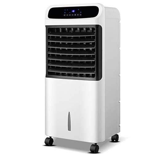 RJLI Climatizadores evaporativos evaporativo PortátilMEnfriador De Aire con Mando A Distancia,Purificador De Aire para Viviendas Y Oficinas,70W,3 Velocidades,12 litros
